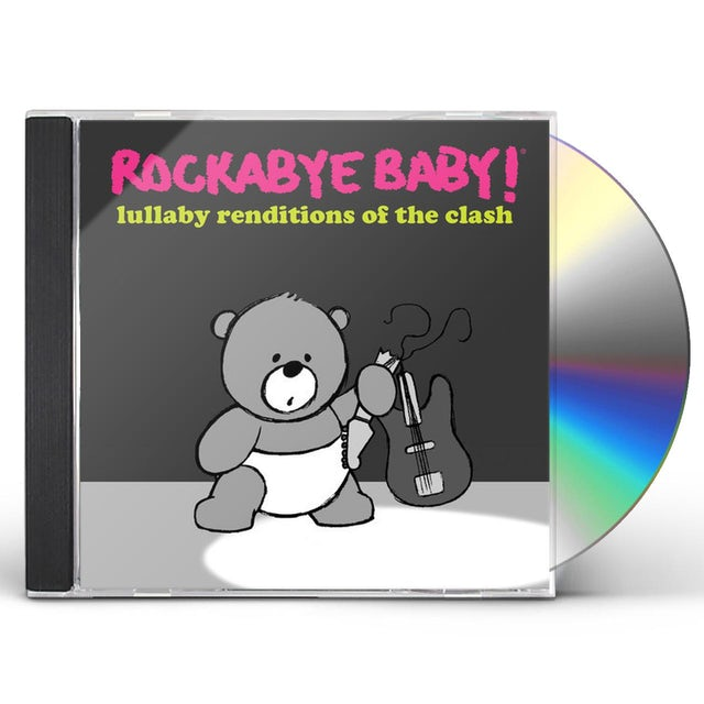 Rockabye Baby LULLABY RENDITIONS OF THE CLASH CD