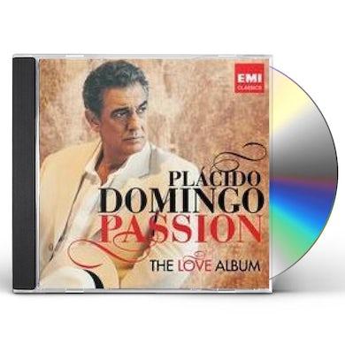 Placido Domingo PASSION: THE LOVE ALBUM CD