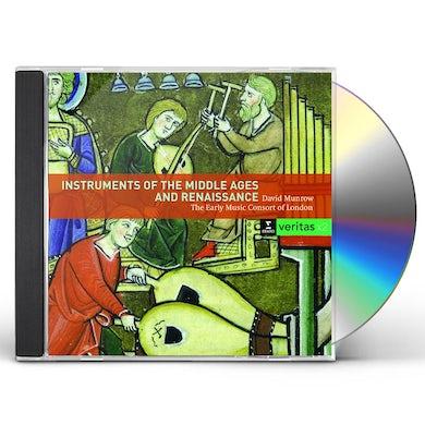 INSTRUMENTS DU MOYEN-AGE ET DE LA RENAISSANCE CD
