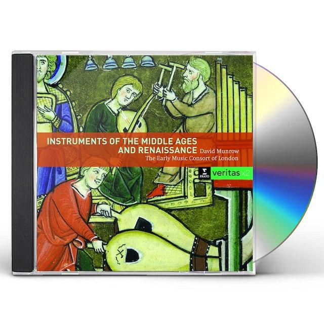 David Munrow INSTRUMENTS DU MOYEN-AGE ET DE LA RENAISSANCE CD