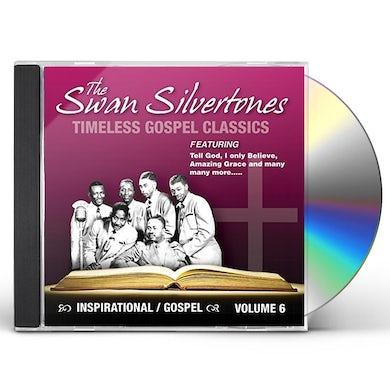 Swan Silvertones INSPIRATIONAL GOSPEL CLASSICS 6 CD