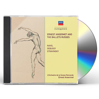 Ernest Ansermet ANSERMET & THE BALLETS RUSSES CD