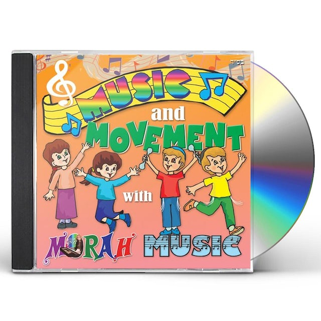 Surie Levilev MUSIC & MOVEMENT WITH MORAH MUSIC CD