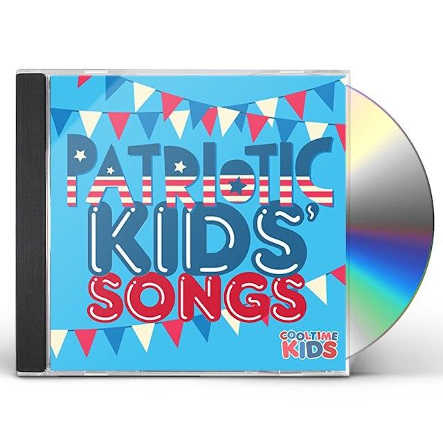 Cooltime Kids PATRIOTIC KIDS SONGS CD