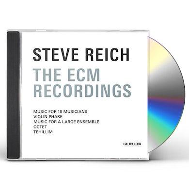 STEVE REICH - THE ECM RECORDINGS CD
