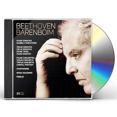 Daniel Barenboim COMPLETE BEETHOVEN: SYMPHONIES OVERTURES CONCERTOS CD