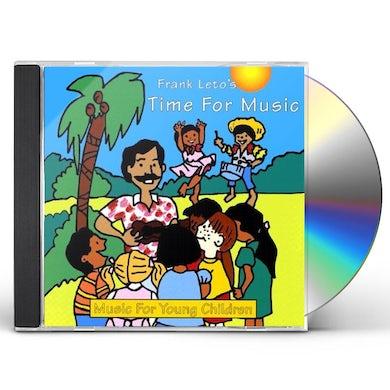 Frank Leto TIME FOR MUSIC CD