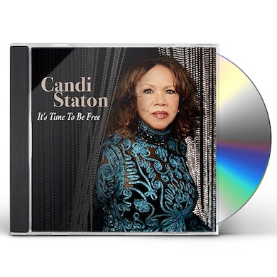 Candi Staton IT'S TIME TO BE FREE CD