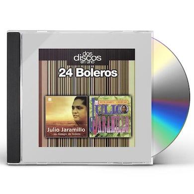 Julio Jaramillo 24 BOLEROS: DOS DISCOS EN UNO CD