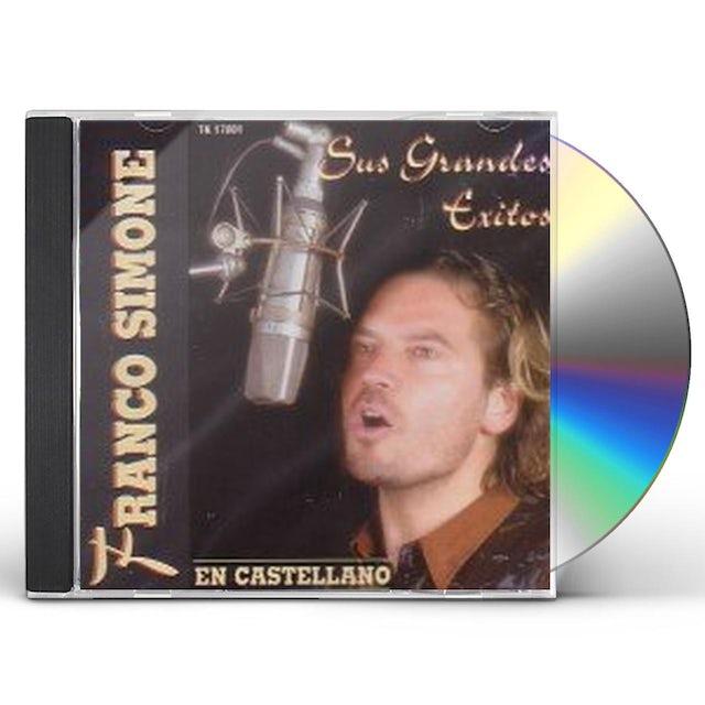Franco Simone SUS GRANDES EXITOS EN CASTELLA CD