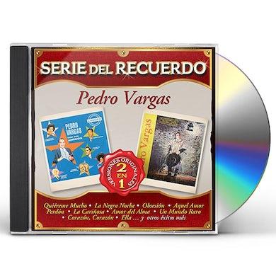 Pedro Vargas SERIE DEL RECUERDO CD