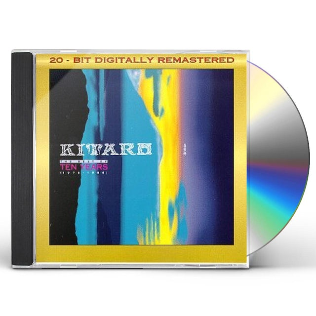 Kitaro BEST OF 10 YEARS (1976-1986) CD
