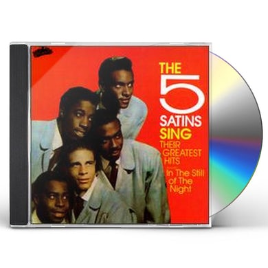 Five Satins SING THEIR GREATEST HITS CD