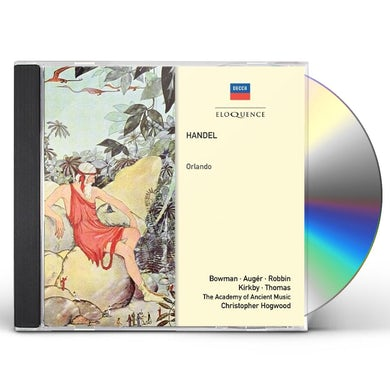 Christopher Hogwood HANDEL: ORLANDO CD