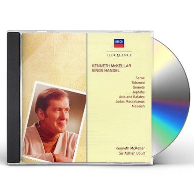 SINGS HANDEL CD