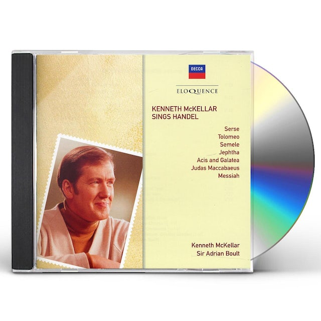 Kenneth McKellar SINGS HANDEL CD