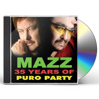 Mazz 35 YEARS OF PURO PARTY CD