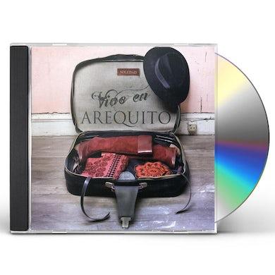 Soledad VIVO EN AREQUITO CD