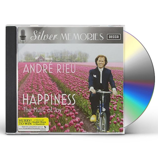SILVER MEMORIES: HAPPINESS WITH ANDRE RIEU CD