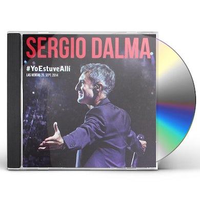 Sergio Dalma YO ESTUVE ALLI CD