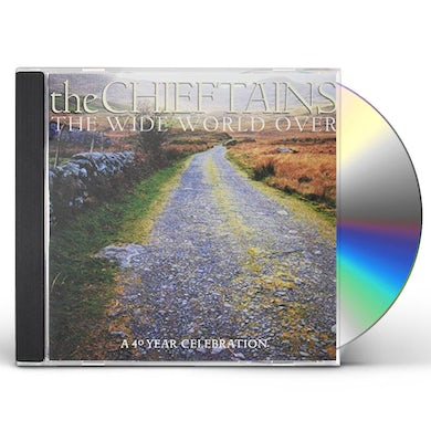 Chieftains WIDE WORLD OVER: 40 YEAR CELEBRATION (GOLD SERIES) CD