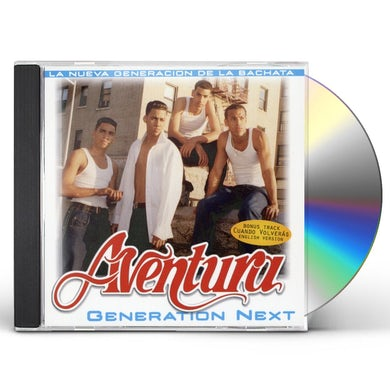 Aventura GENERATION NEXT CD