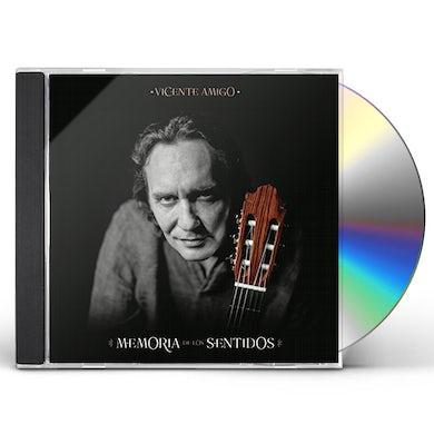 Vicente Amigo MEMORIA DE LOS SENTIDOS (STANDARD) CD