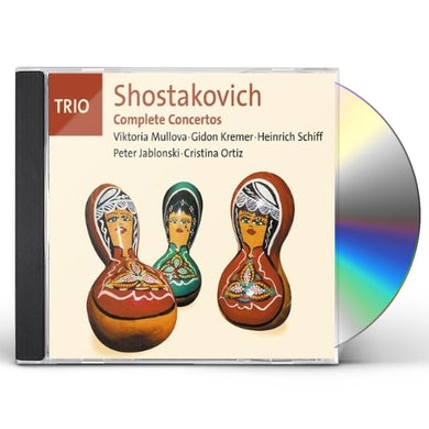 Shostakovich COMPLETE CONCERTOS CD