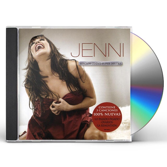 Jenni Rivera JENNI (SUPER DELUXE) CD