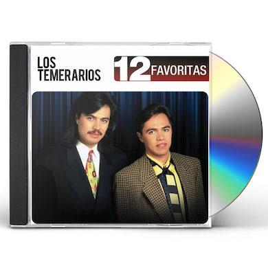 temerarios 12 FAVORITAS CD