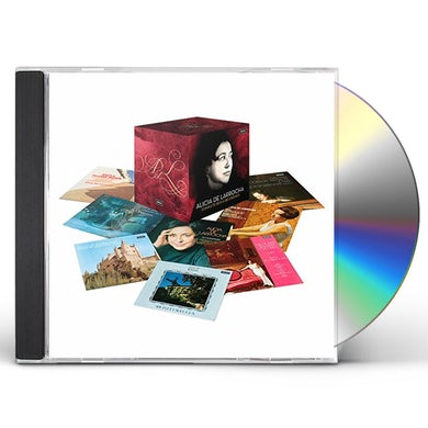 ALICIA DE LARROCHA COMPLETE DECCA RECORDINGS CD
