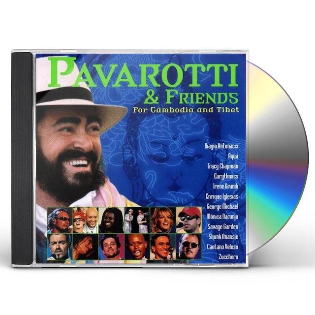 Luciano Pavarotti PAVAROTTI & FRIENDS FOR CAMBODIA & TIBET CD