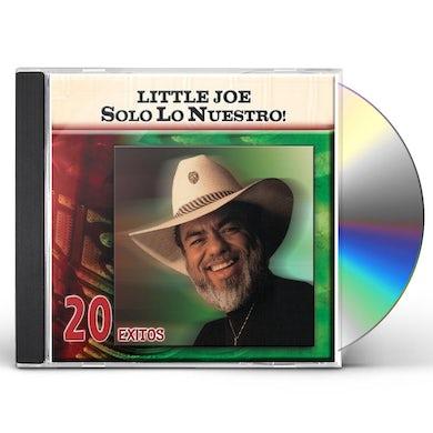 little joe SOLO LO NUESTRO: 20 EXITOS CD