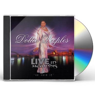 Dottie Peoples LIVE IN MEMPHIS CD