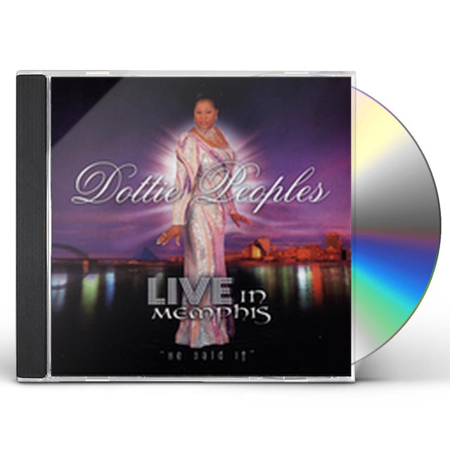 Dottie Peoples LIVE IN MEMPHIS CD