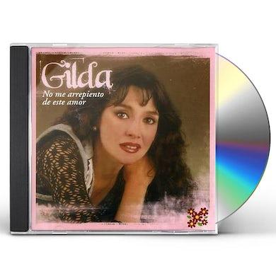NO ME ARREPIENTO DE ESTE AMOR CD