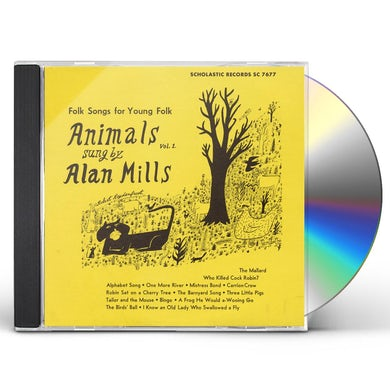 Alan Mills ANIMALS, VOL.1 CD