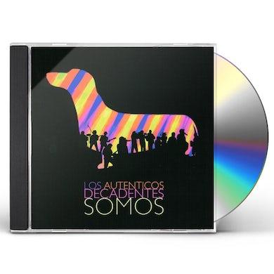 Los Autenticos Decadentes SOMOS: EN VIVO CD