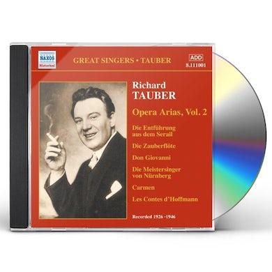 Richard Tauber VOL. 2-OPERA ARIAS CD