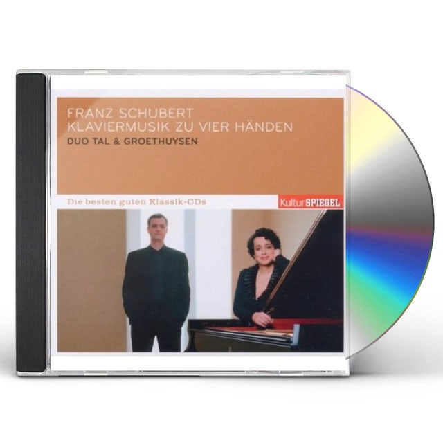 F. Schubert PIANO MUSIC FOR 4 HANDS/TAL & GROETHUYSEN/KULTUR S CD