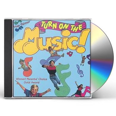 Hap Palmer TURN ON THE MUSIC CD