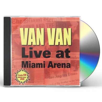 Los Van Van LIVE AT MIAMI ARENA CD