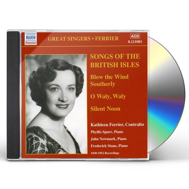 Kathleen Ferrier SONGS OF THE BRITISH ISLES CD