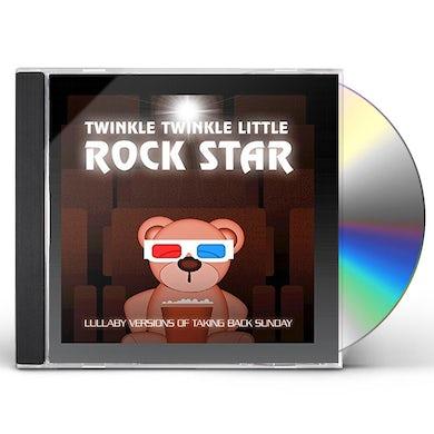 Twinkle Twinkle Little Rock Star LULLABY VERSIONS OF TAKING BACK SUNDAY (MOD) CD