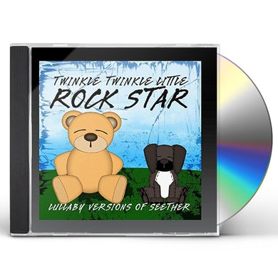 Twinkle Twinkle Little Rock Star LULLABY VERSIONS OF SEETHER (MOD) CD