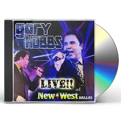 Gary Hobbs LIVE AT THE NEW WEST CD