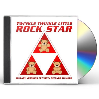 Twinkle Twinkle Little Rock Star LULLABY VERSIONS OF THIRTY SECONDS TO MARS (MOD) CD