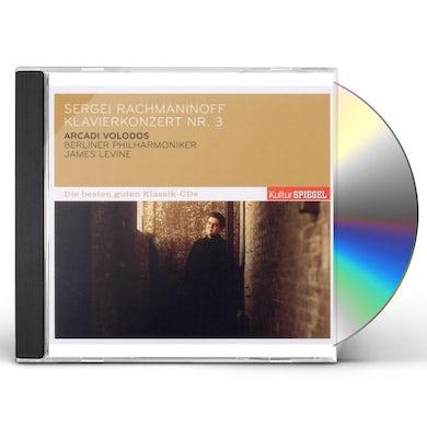 S. Rachmaninov PIANO CONCERTO NO.3/VOLODOS ARCADI/KULTUR SPIEGEL- CD