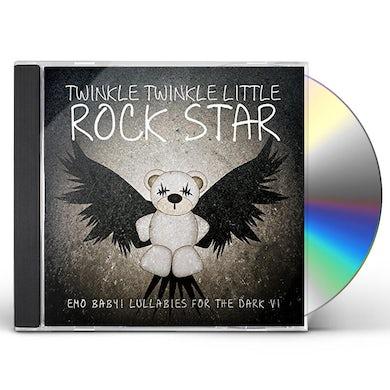 Twinkle Twinkle Little Rock Star EMO BABY! LULLABIES FOR THE DARK, VOL. 1 (MOD) CD