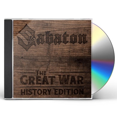 Sabaton GREAT WAR: HISTORY EDITION CD